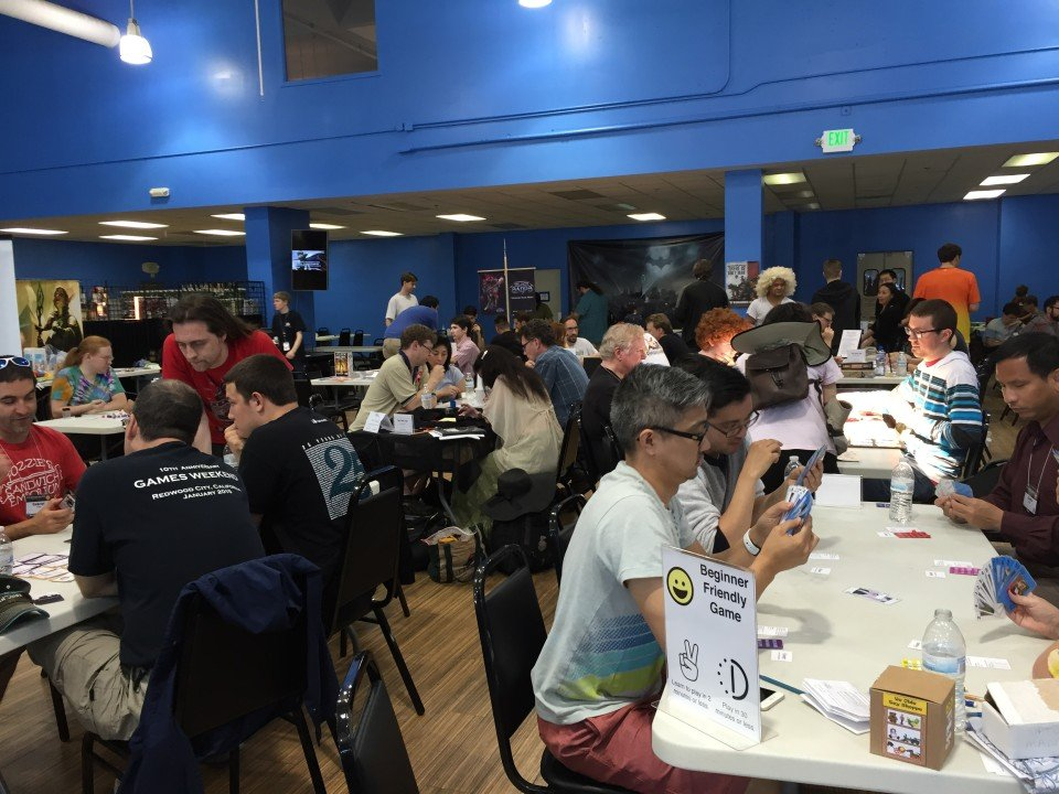 Tables and tables of games, designers, and playtesters.