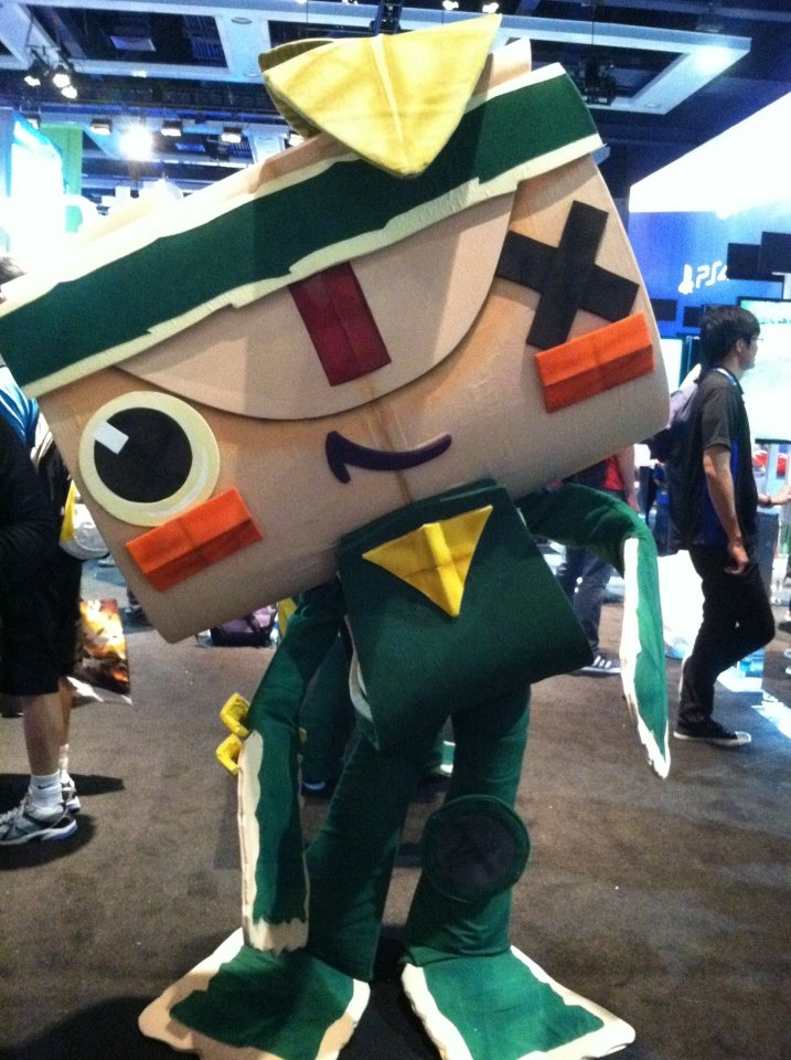 Iota from Tearaway