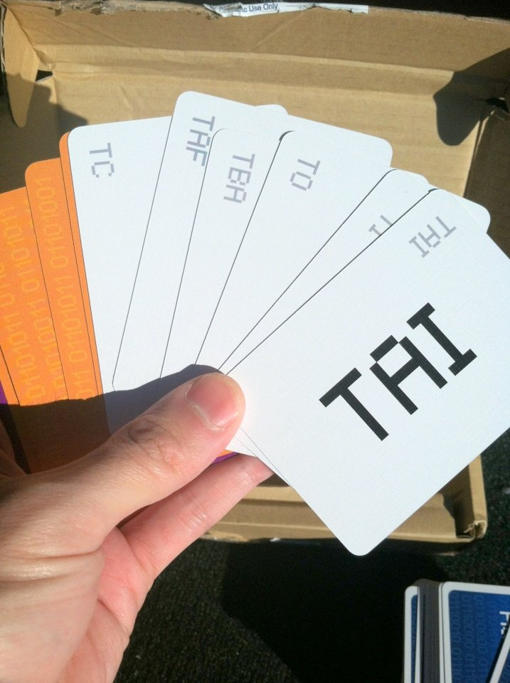 Version 1.0 Cards... Looking Good!