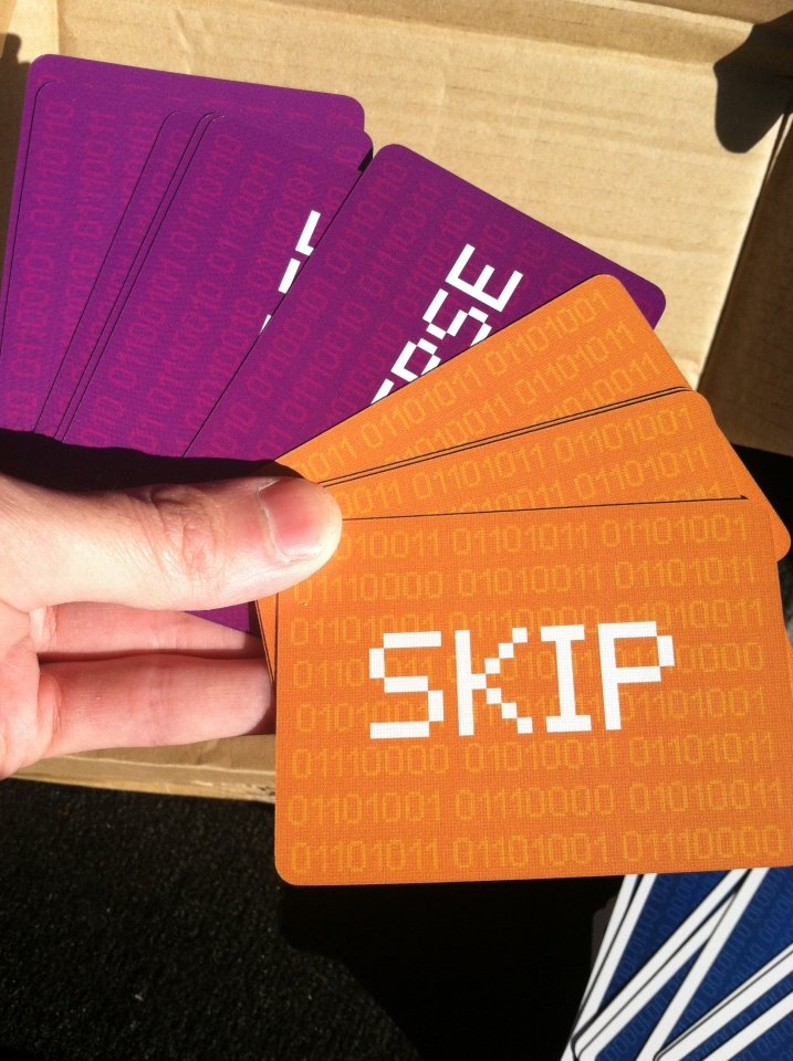 Version 1.0 of the Skip and Reverse Cards