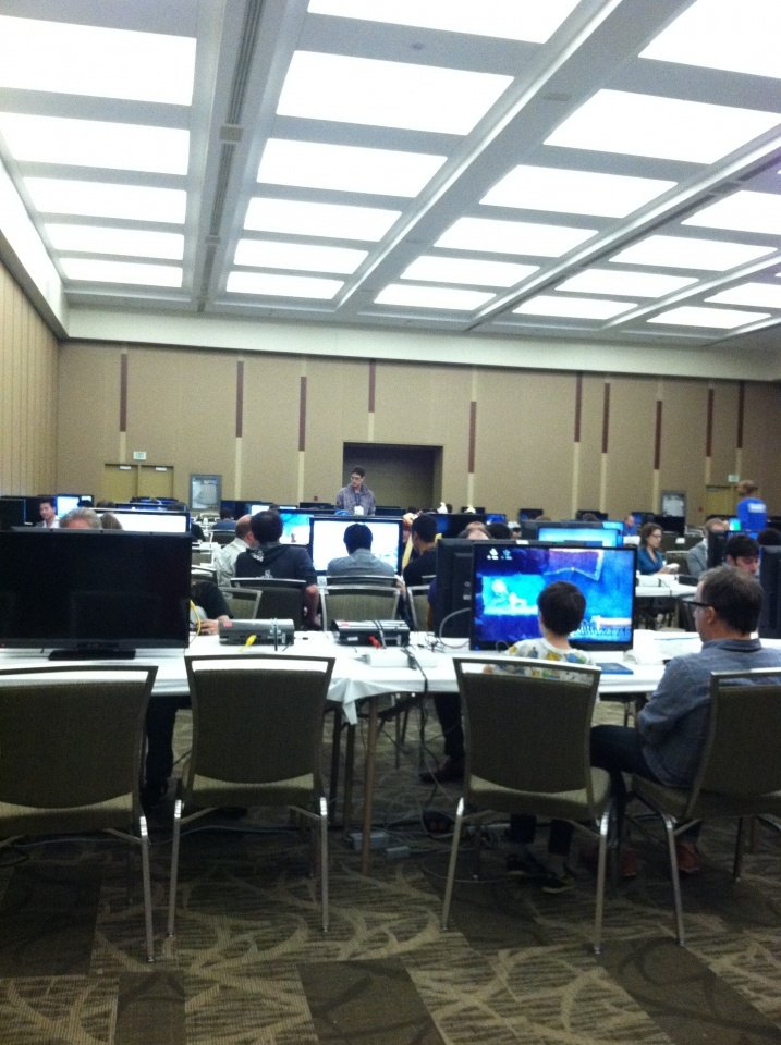 The freestyle console gaming room